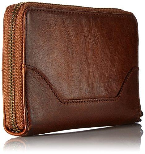 FRYE Melissa Zip Phone Wallet, Cognac by FRYE (Image #2)
