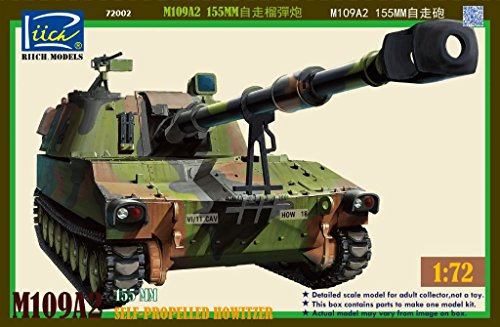 Riich.Models 1/72 M109A2 155mm Self-Propelled Howitzer RT - Self Howitzer Propelled