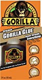 Best Glue For Leathers - Gorilla Original Gorilla Glue, 2 oz., Brown Review