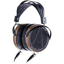 Audeze LCD-3 Over Ear | Open Back Headphone | Zebrano Wood Rings | Leather