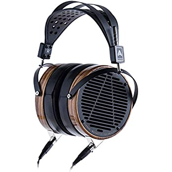 Audeze LCD-3 Over Ear | Open Back Headphone | Zebrano Wood Rings | Leather