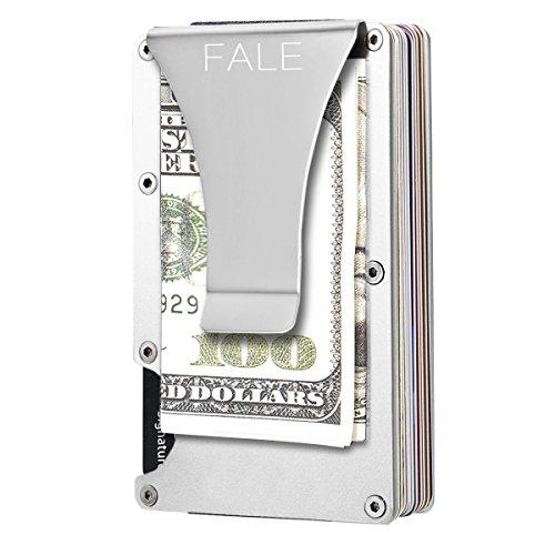 Slim Front Pocket Wallet - RFID Blocking Money Clip Men's Sliver Card Case Holder … …