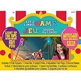 Amscan Carnival Fair Fun Luau Limbo Game (11 Piece), Multicolor, One Size