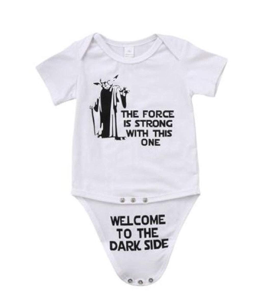 Pudcoco Star Wars Newborn Baby Romper Onesie Outfit