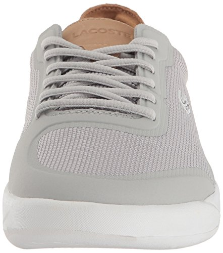 Lacoste Mens Light Spirit Elite 117 3 Sneaker Fashion Casual Grigio Chiaro