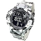 b82aa05f41e1a LAD WEATHER Military Watch Stopwatch  Outdoor 100m Water Resistant (white1)