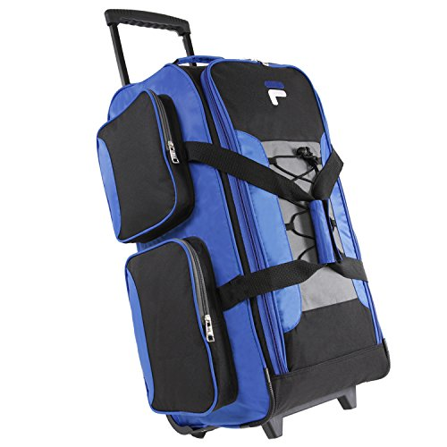 Fila 26'' Lightweight Rolling Duffel Bag, Blue, One Size by Fila (Image #12)