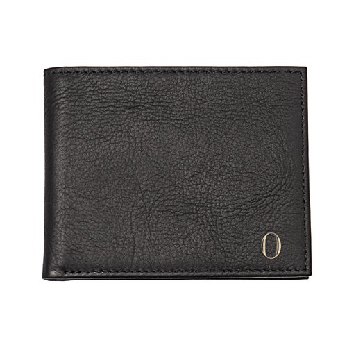 Cathy's Concepts Personalized Leather Bi-fold Wallet with Multifunction Tool, Black, Letter O