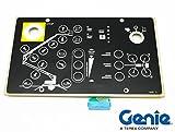 Genie TMZ50 Ground Control Touchpad Decal - Genie Part 65159-SGT