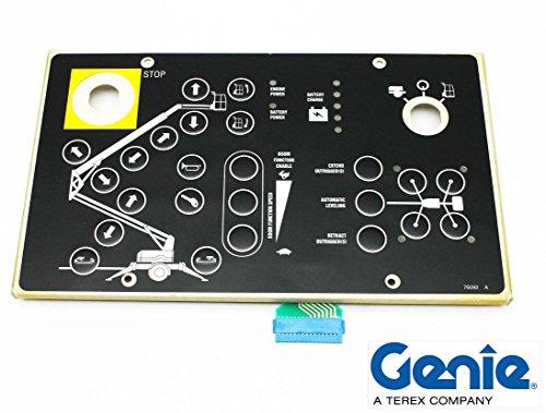 Genie TMZ50 Ground Control Touchpad Decal - Genie Part 65159-SGT by Genie