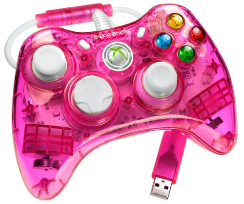 Amazon.com: Rock Candy Xbox 360 Controller - Red: Video Games on
