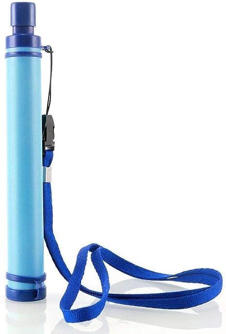 Febelle - Filtro de Agua portátil para Tubo de succión, purificador de Aire para Camping, Senderismo, Emergencia, Supervivencia, Herramienta: Amazon.es: Deportes y aire libre