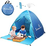 Beach Tent, Shade, Anti UV Instant Portable Sun Shelter, Pop Up Baby For