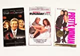 Richard Gere Video Collection: Runaway Bride; Pretty Woman; Shall We Dance (3pk)