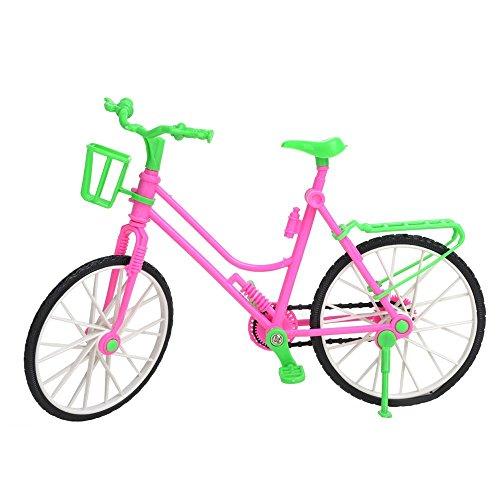 Barbie Swan Lake Halloween Costume (Lanlan mini Bicycle for Barbie doll Green)