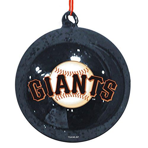 Team Sports America San Francisco Giants Mercury Glass Ball Ornament
