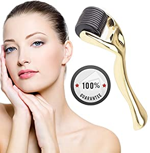 Vistery Derma Roller MicroNeedles 540 Pins Facial Skin Care Tool for Wrinkles Beauty Home Use 0.3mm