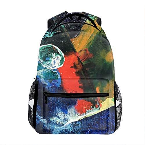 School Backpack Classic Travel Laptop Mini World Backpack Rucksack Middle School Bookbag