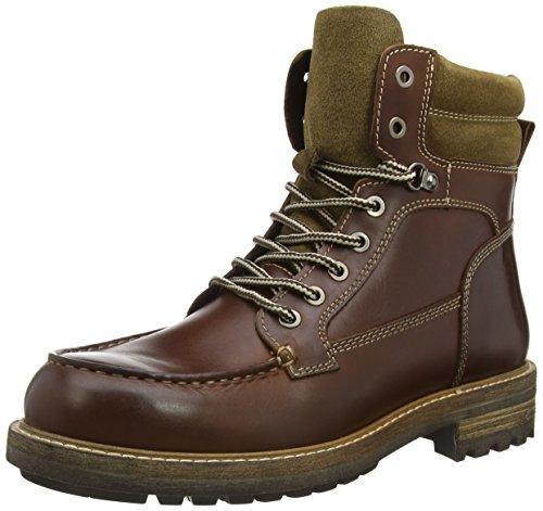 Belmondo 75215502 - botas chukka de cuero hombre marrón - marrón (Cognac)