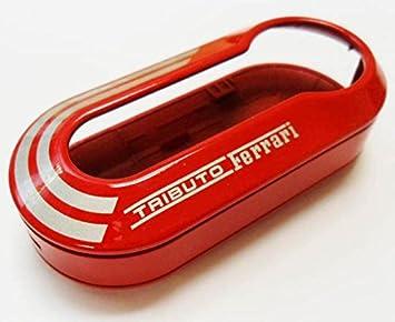 Clé Oe735527598 Housse De Fiatauthentique Ferrari Pour Rouge bfvIg76Yy