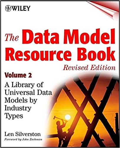 The data model resource book vol 2 a library of data models for the data model resource book vol 2 a library of data models for specific industries len silverston 9780471353485 amazon books fandeluxe Choice Image