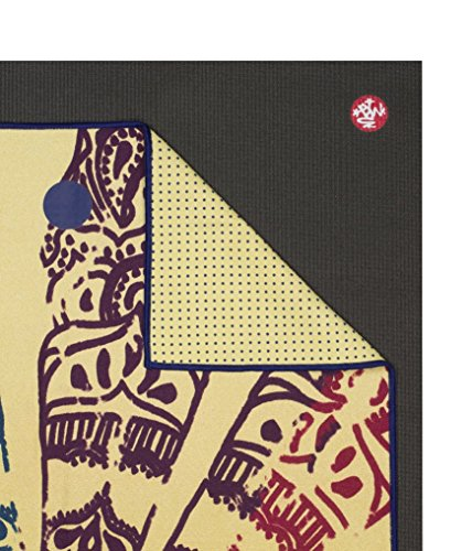 Manduka Chakra Collection Yoga Mat Towel, Chakra Print