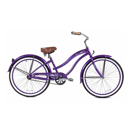 Micargi Rover LX Beach Cruiser Bike Purple 26-Inch [並行輸入品] B06XFZTNBT