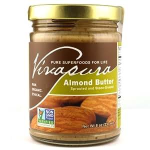 Vivapura Raw Vegan Almond Butter 8 Oz.