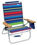 Rio Beach Beach Bum Beach Chair, Bright Stripe