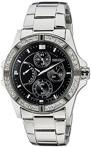 Seiko Ladies Quartz Analog Dress Quartz Watch NWT SRLZ93P1