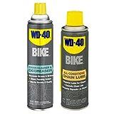 WD-40 Bike Chain Lube, Bike Wash, Chain Cleaner & Degreaser, Dry Lube, Wet Lube (Combo Cleaners)