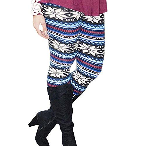 パドル意味のあるお父さんwlgreatsp 女性 ファッションプリント コットンパンツ スキニー ストレッチフィット スリムレギンス