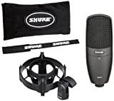 Shure Multi-Purpose Condenser Microphone, Black