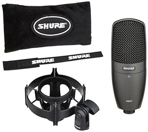 Shure SM-27-SC Multi-Purpose Condenser Microphone by Shure