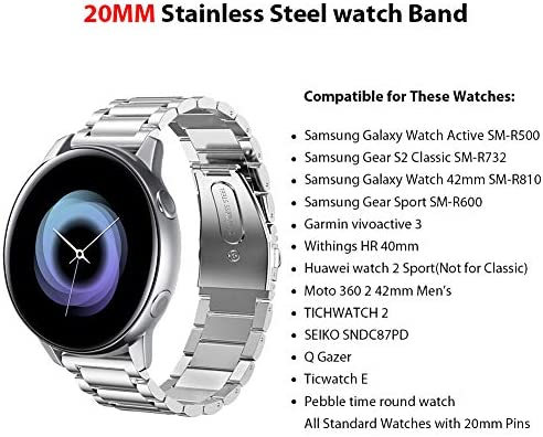 Sundaree Compatible con Correa Galaxy Watch Active/Gear S2 Classic ...