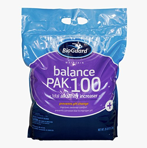BioGuard Balance Pak 100 Alkalinity Increaser - 25 Lb (Sodium Hydrogen Carbonate compare prices)