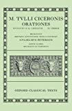 M. Tvlli Cicero Orationes 9780198146070