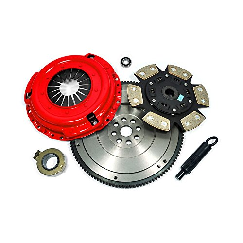 Civic Kit Duty Heavy Honda Clutch - EFT STAGE 3 CLUTCH KIT+HD FLYWHEEL for 92-05 HONDA CIVIC DEL SOL D15 D16 D17