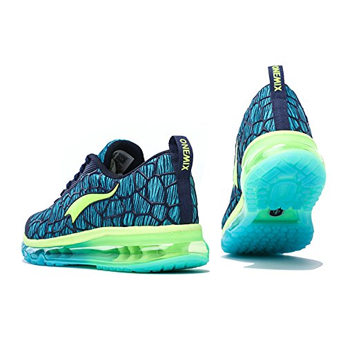 Chaussures Sport Homme Gym Lacet Respirante Dark Running Baskets Fitness Style Sneakers Blue Onemix Multicolore Air wSTFXqTE