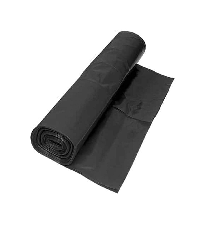 2M X 2M 750G BLACK HEAVY DUTY POLYTHENE PLASTIC SHEETING GARDEN DIY MATERIAL