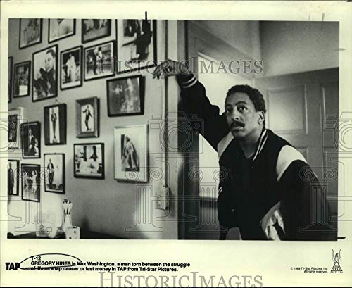 Historic Images - 1988 Press Photo Actor Gregory Hines as Max Washington in Tap Movie Scene