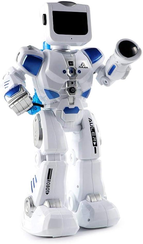 Robot Inteligente Multifuncional, Carga de Juguetes para niños, Robot a Control Remoto con Baile Chico, Modelo de Robot, Juguete para niños, Juguetes interactivos Super personales, Juega: Amazon.es: Hogar