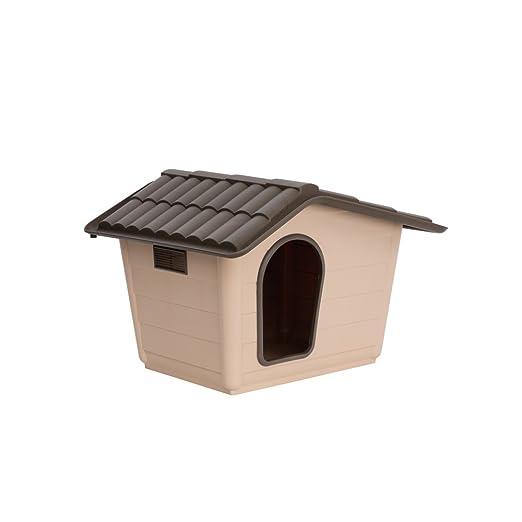 Caseta para perros gatos Sprint Mini Eco Beige de plástico Casa de ...