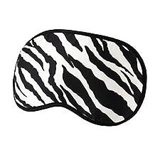 Elegant Silk Sleeping Eye Mask Sleep Mask Eye-shade Aid-sleeping,Zebra