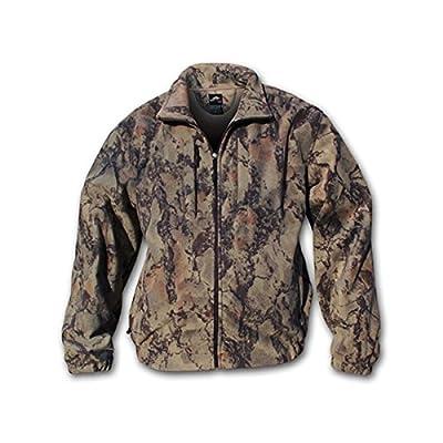 NATURAL GEAR Winterceptor Windproof Fleece Jacket, Natural (163)