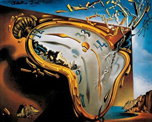 1art1 Salvador Dali - Relojes Blandos Poster Impresion Artistica (70 x 5