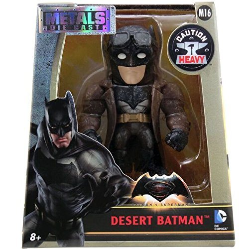 Metals Batman V Superman 4 inch Movie Figure - Desert Batman (M16)