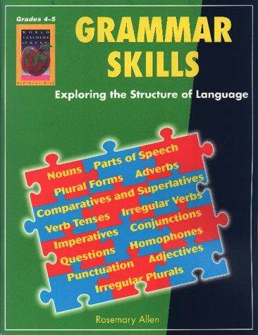 Amazon.com: Grammar Skills, Grades 4-5 (9781583240526): Rosemary ...
