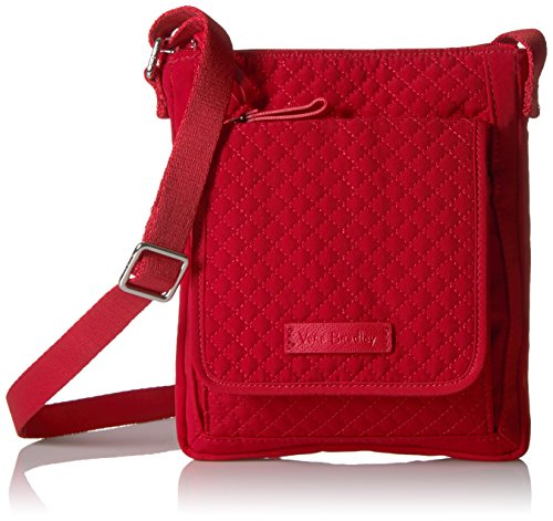 Vera Bradley Iconic RFID Mini Hipster Vera, Cardinal red