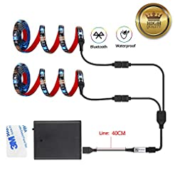 Led Strip Lights Battery Powered With Bl...